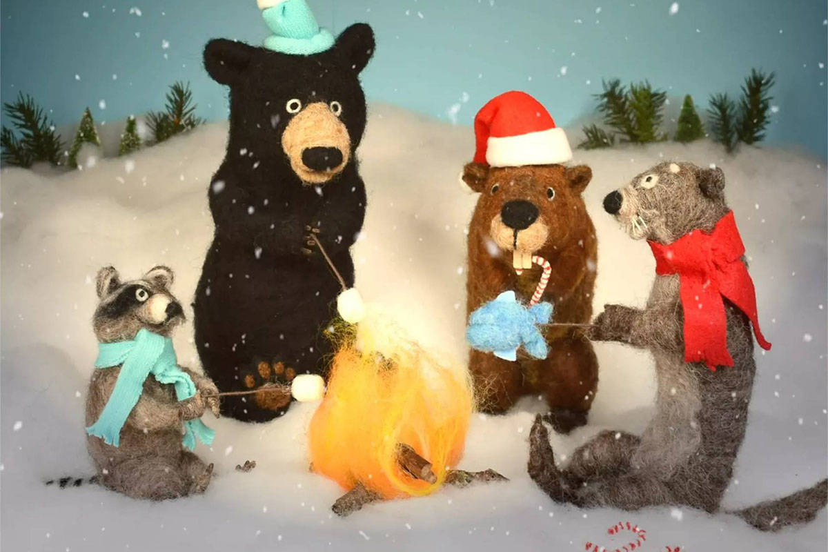 Critter Care Wildlife Society is running a Christmas Fur All campaign for the 2020 holiday season in support of the animals at the facility. (Critter Care Wildlife/Facebook)