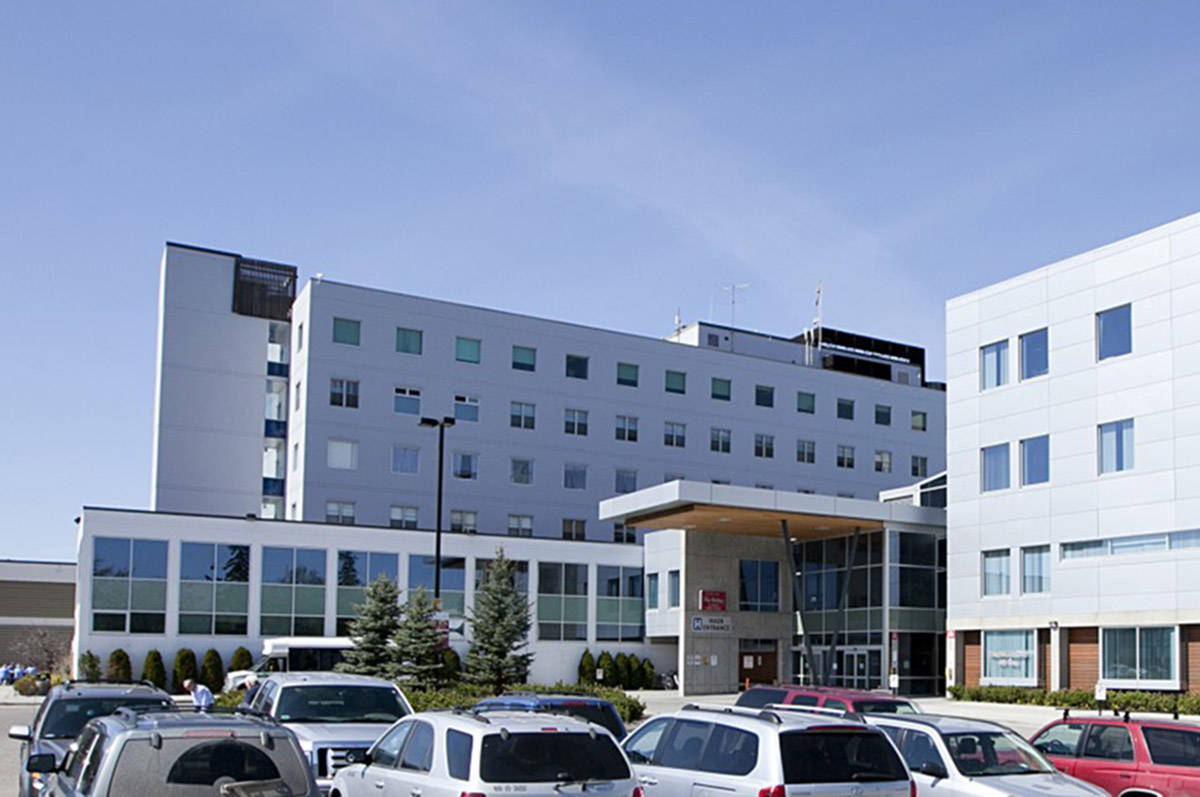 University Hospital of Northern B.C., in Prince George. (UBC photo)