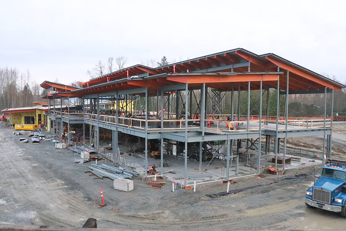 The Donna Gabriel Robins Elementary school will open September 2021 at 7844 204B St. (Joanne Abshire/Langley School District)