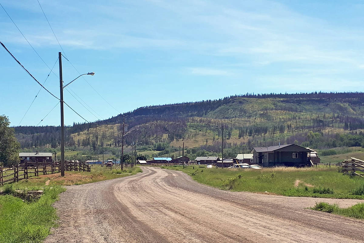 Yunesit'in (Stone), west of Williams Lake, is one of six First Nation communities comprising the Tsilhqot'in Nation. (Rebecca Dyok photo)