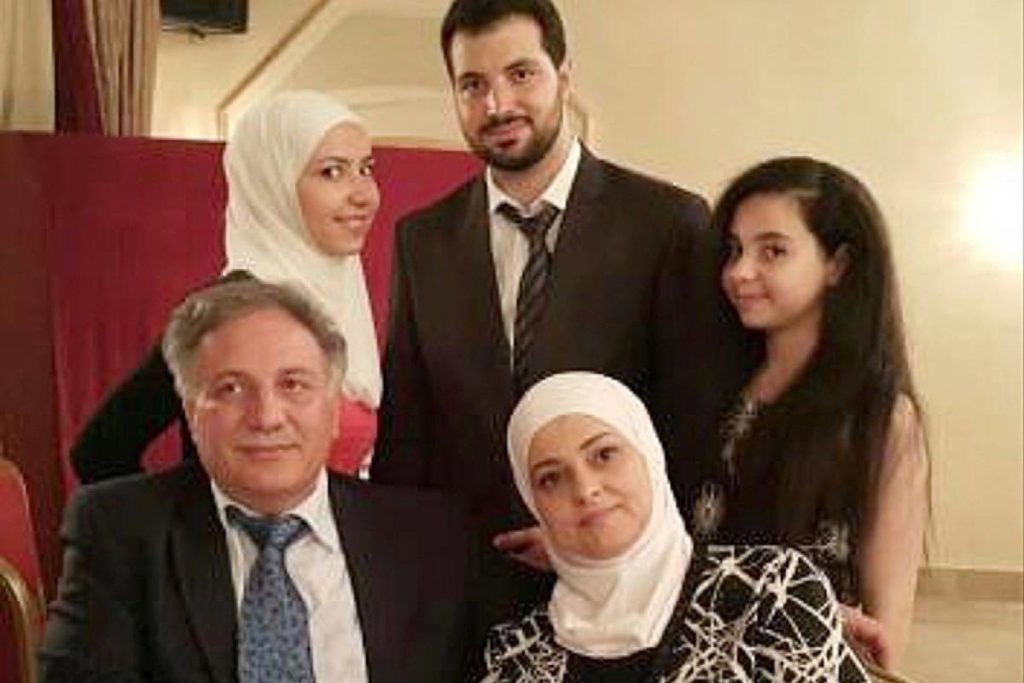 This 2015 photo was one of the last taken of Hanadi Albarazanji with her entire family: husband, Emad; daughters Yaman and Juman; and son, Kenan. (Contributed photo)