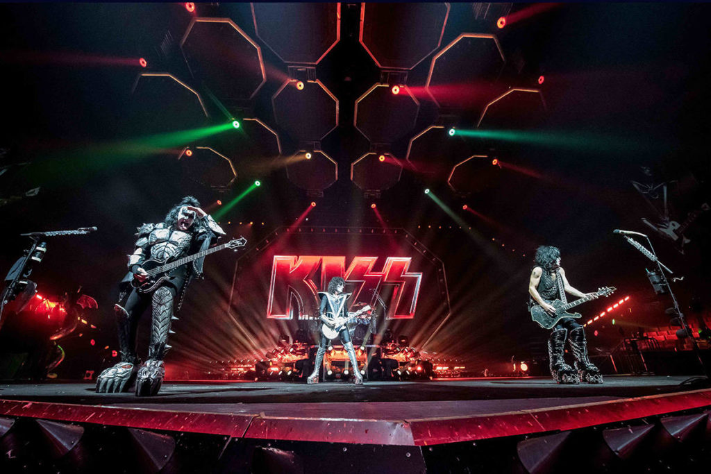 A live performance from KISS is available to live stream for fans through the Abbotsford Centre.