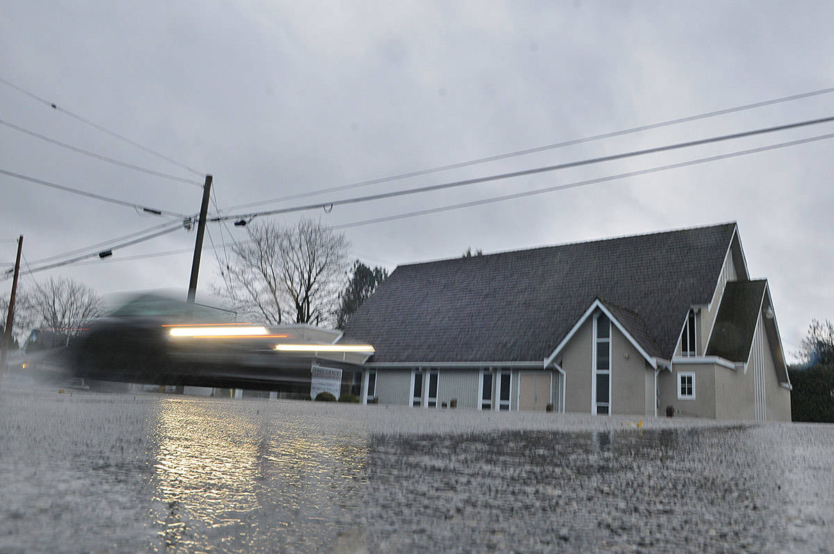 Free Grace Baptist Church on Wellington Avenue – seen here on Wednesday, Dec. 9, 2020 – was one of three churches in Chilliwack receiving a total of $18,400 in fines for repeatedly violating provincial public health orders. (Jenna Hauck/ Chilliwack Progress)
