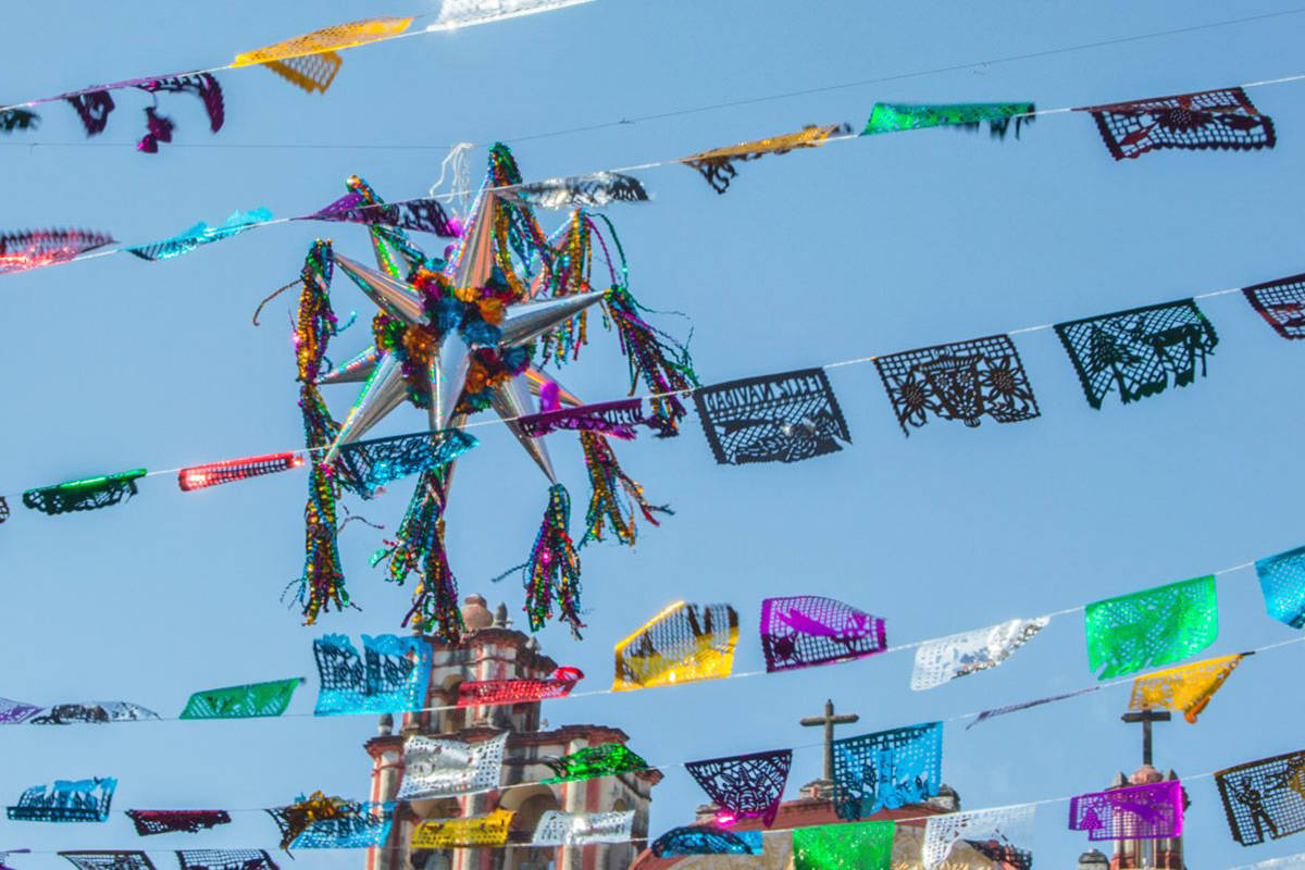 Langley City resident Mariana Arámburu photographed the colourful Christmas displays of her homeland, Mexico.