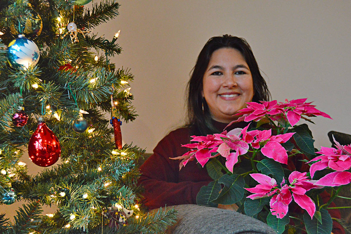 Mariana Arámburu lives in Langley City and shares some of the traditions from Mexico, where she was born. (Ryan Uytdewilligen/Black Press Media)