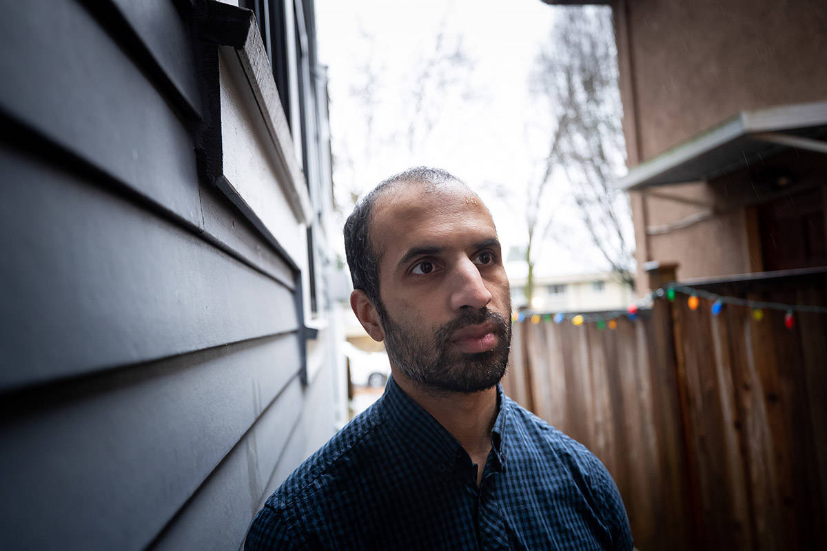 Dr. Srinivas Murthy, who works in the intensive care unit at B.C. Children's Hospital, poses for a photograph in Vancouver, on Friday, December 18, 2020. THE CANADIAN PRESS/Darryl Dyck