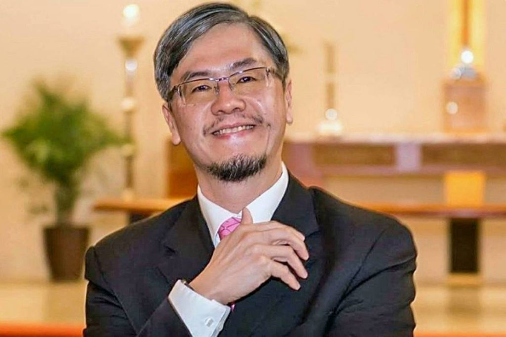 Port Moody Rev. Tom Cheung died in the May 2, 2019 crash at the Douglas border in South Surrey. (GoFundMe photo)