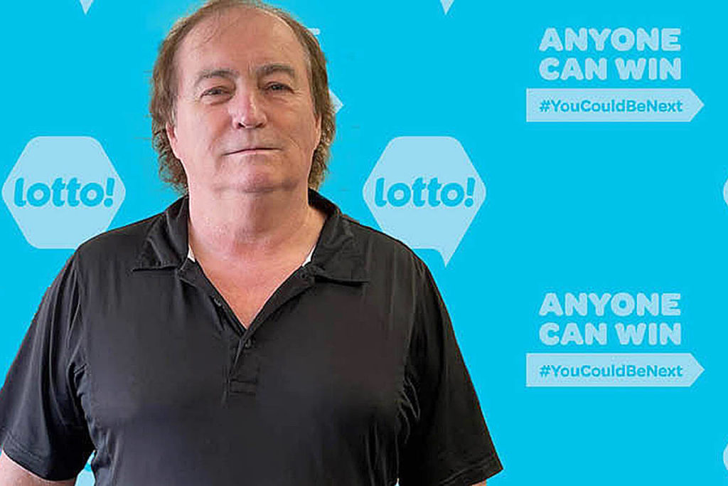 Chester Kennedy of Langley won $25,000 on Keno, just before Christmas. (B.C. Lottery Corp./Special to Langley Advance Times)