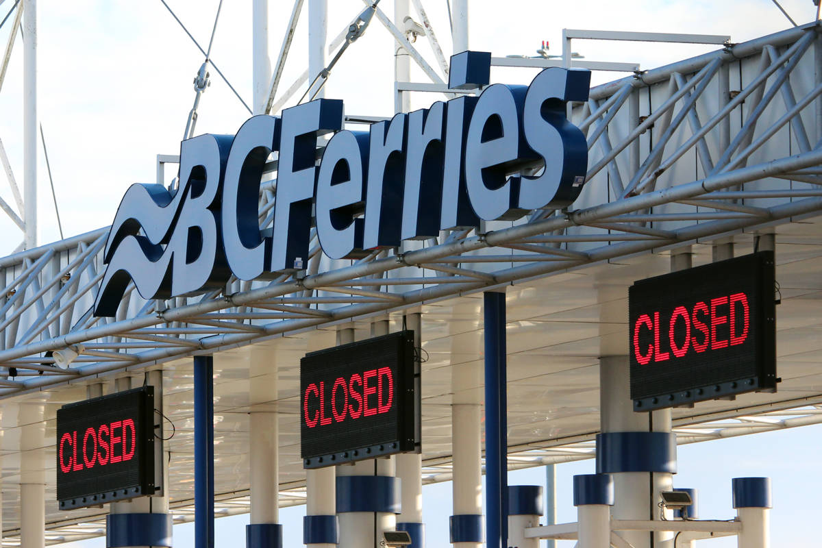 BC Ferries has cancelled multiple sailings between Greater Victoria and Lower Mainland (Black Press Media File)