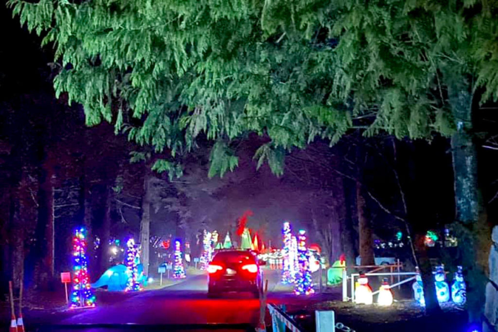 After much uncertainty if the event could go ahead, Christmas in Williams Park welcomed hundreds of guests for two weekends in December. (Special to the Aldergrove Star)