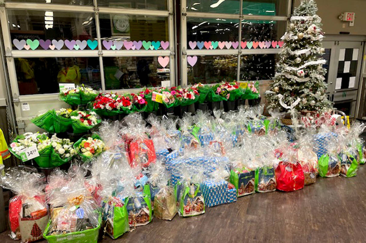 """Save-On Foods Aldergrove held a """"giving tree"""" gift donation drive for Jackman Manor. (Special to The Star)"""