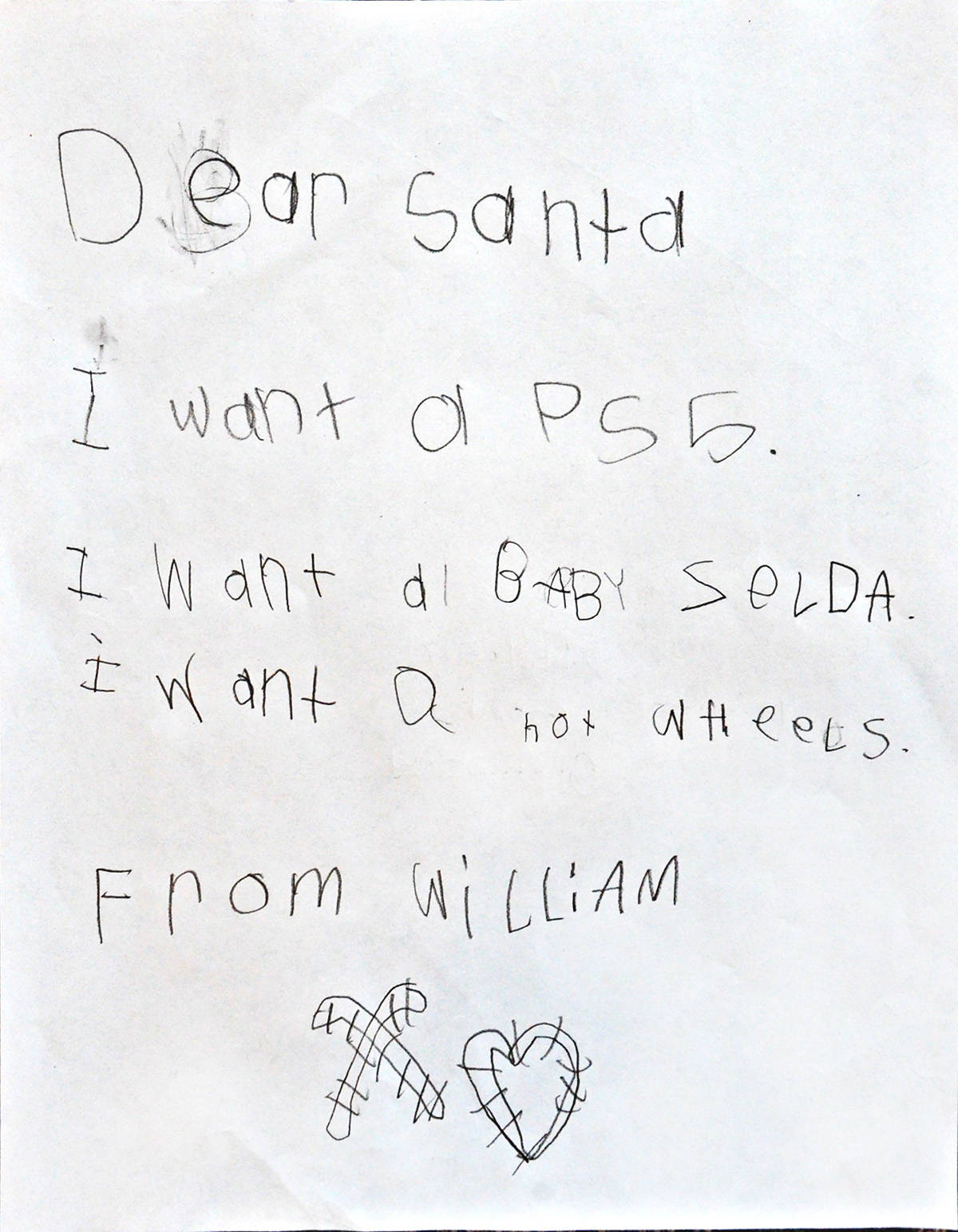 William, Grade 1, Glenwood Elementary