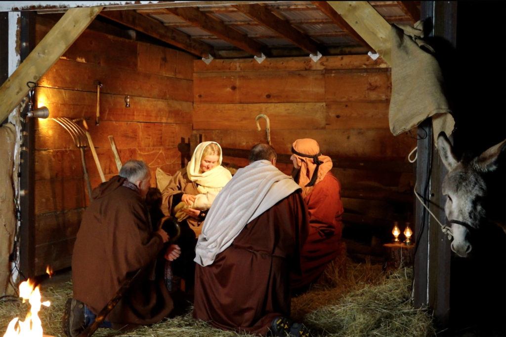 Summerland Baptist Church has created a special live nativity scene for this Christmas season. How much do you know about the Biblical Christmas story? (Contributed)