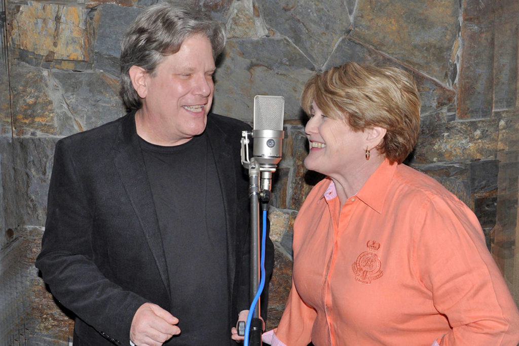 Gord Maxwell and Laurie Thain, who perform together as Maxwell and Thain, have released a Christmas song. (Dee Lippingwell/Special to the Langley Advance Times)