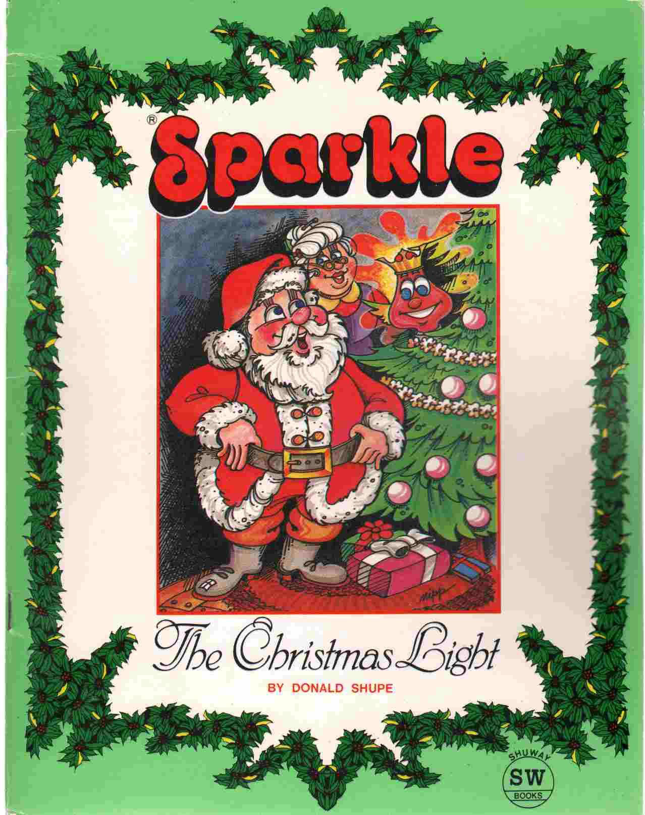 The Sparkle book was created as part of a package with the light.