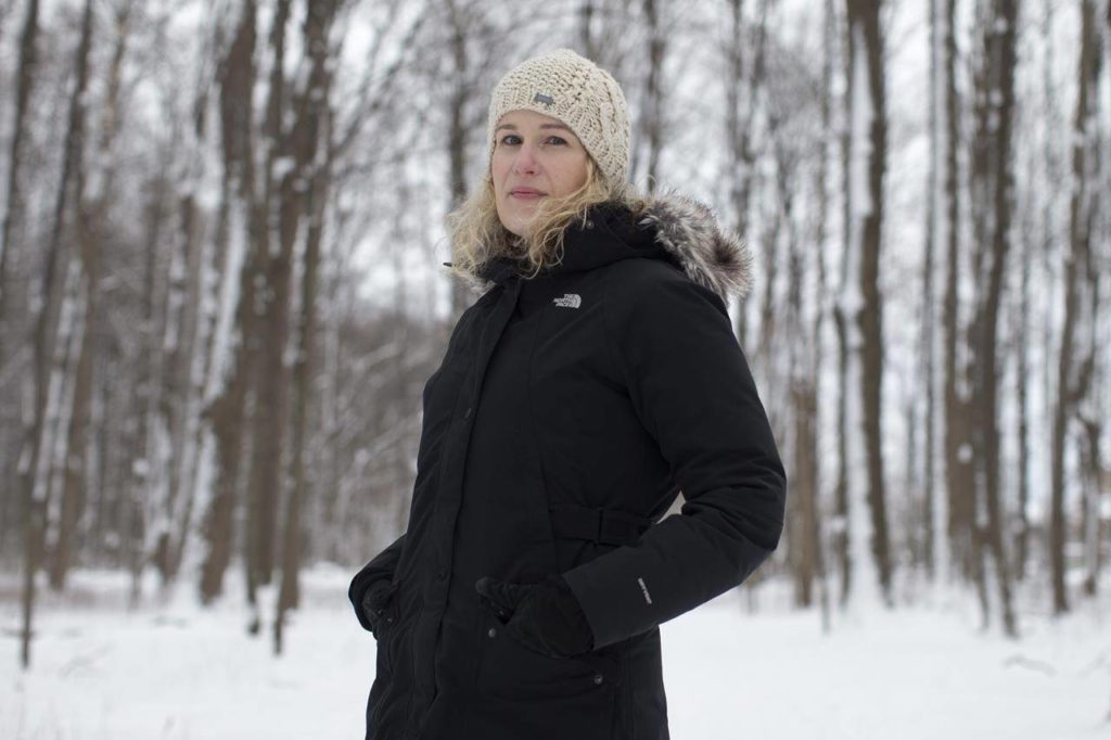 Olivia Meleta, a high school math teacher, is photographed near her Thornhill, Ont., home on Saturday, Dec. 26, 2020. From texting friends on the sly to downloading apps that spit out answers, educators say the pandemic-induced move to an online classroom has offered up a wealth of tech-driven workarounds to actually doing the work. THE CANADIAN PRESS/Chris Young