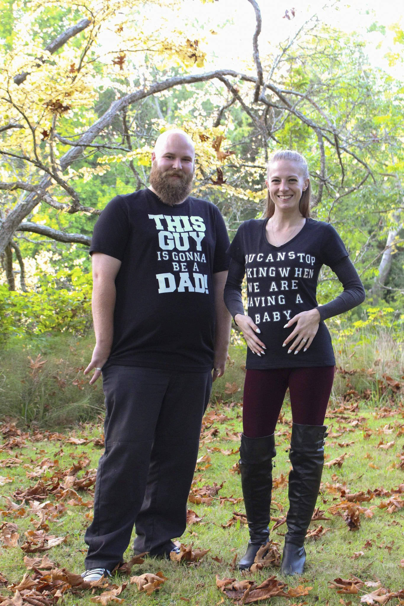 Samantha Kent and her husband celebrated 11 years together and found out they are pregnant. (Courtesy of Samantha Kent)