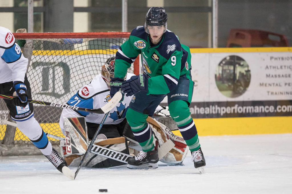 BCHL team can now practise together in full, after a revision to the provincial health order on Dec. 28. (Garrett James photo)