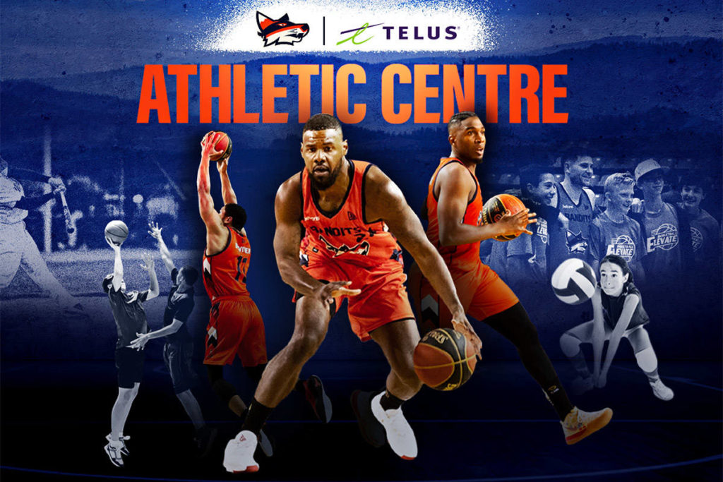 The Telus Bandits Athletic Centre is set to open in early-2021. (Submitted)