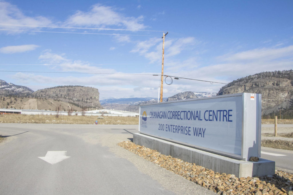 The British Columbia Human Rights Tribunal dismissed the complaint of a former Okanagan Correction Centre inmate Dec. 3, 2020 regarding his denial of kosher meals while incarcerated. (Dustin Godfrey/Western News file)