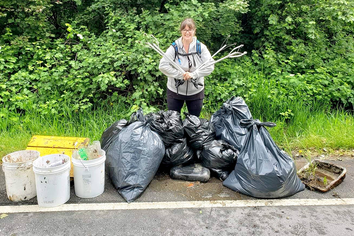 Jocelyn Titus, founder of Earth Ninjas and Cleaning Up Aldergrove. (Special to The Star)