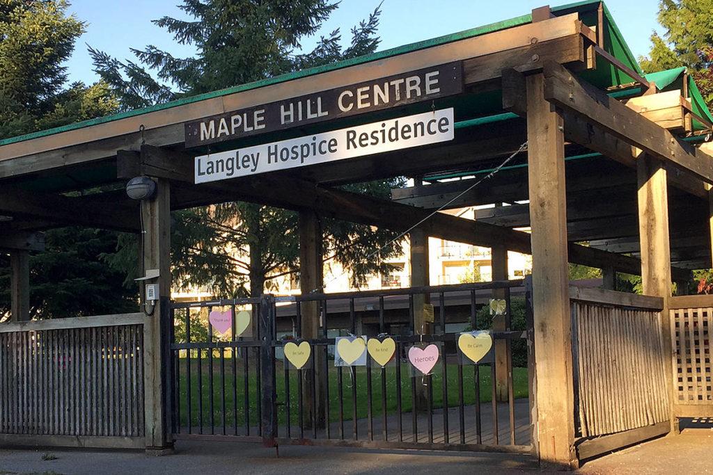 A previous outbreak at Maple Hill was declared over during the summer. (Langley Advance Times files)