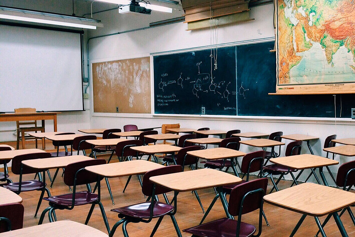 An online petition has been launched urging the province to extend the winter break by two weeks, as students prepare to return to classrooms Monday, Jan. 4, 2021. (Black Press Media files)
