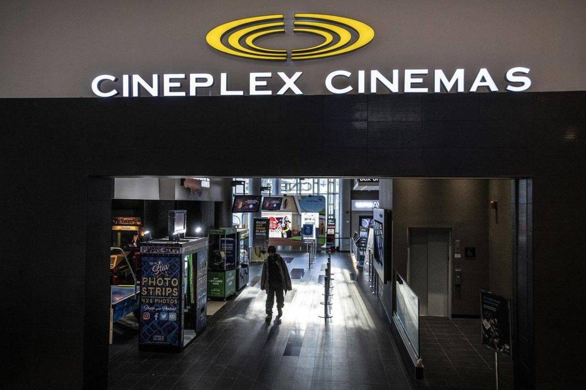 Cineplex Cinemas. (The Canadian Press)