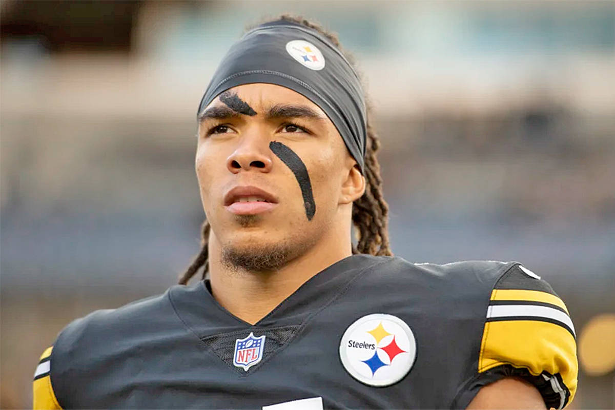 Chase Claypool, seen during a Nov. 15 2020 game against the Cincinnati Bengals (Karl Roser/Pittsburgh Steelers)
