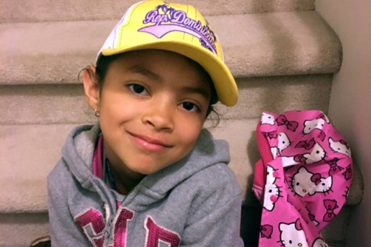 Seven-year-old Aaliyah Rosa was found dead in an apartment in Langley in July. (Special to the Langley Advance Times)