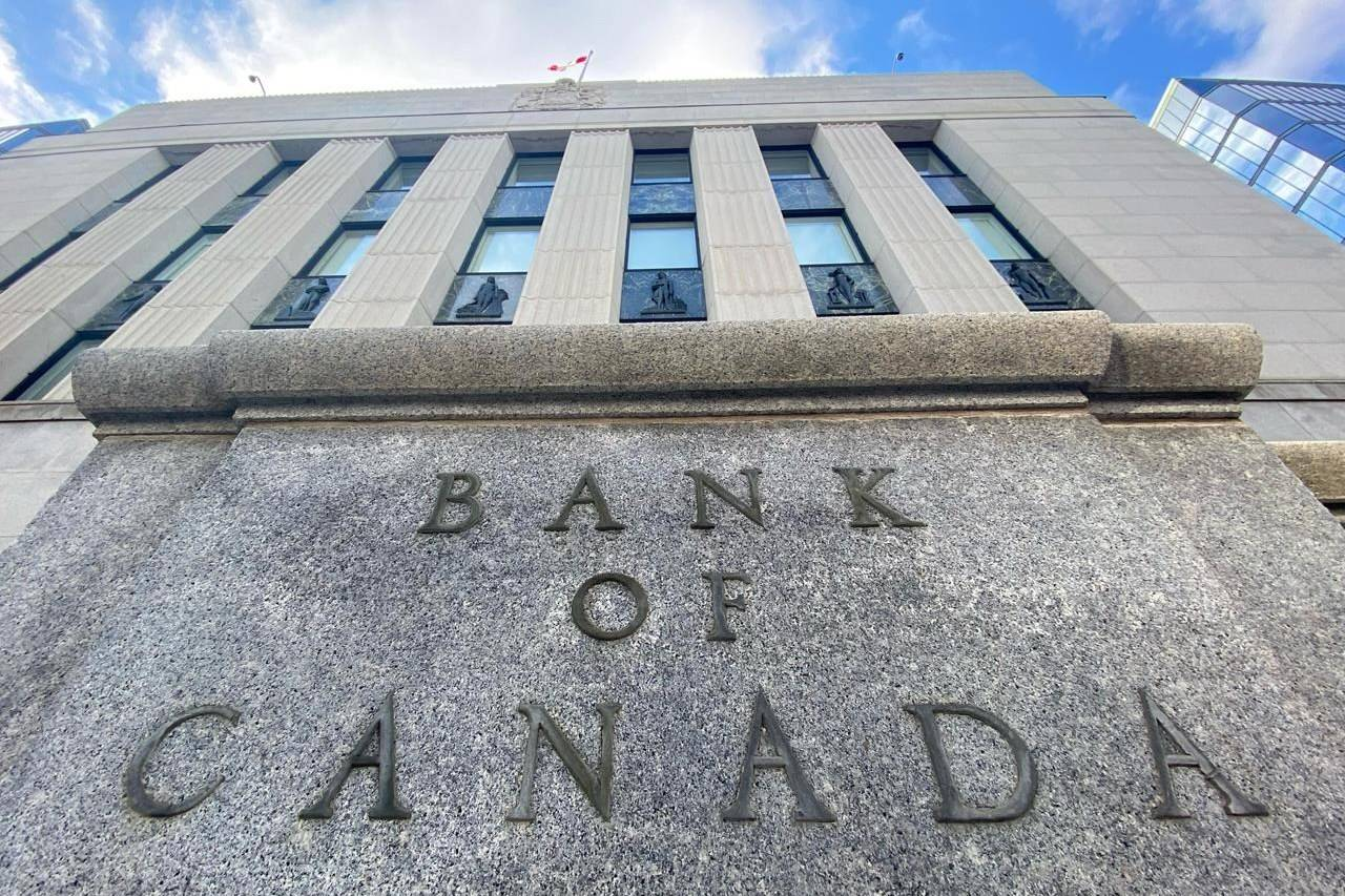 The Bank of Canada building is seen in Ottawa, Wednesday, April 15, 2020. THE CANADIAN PRESS/Adrian Wyld