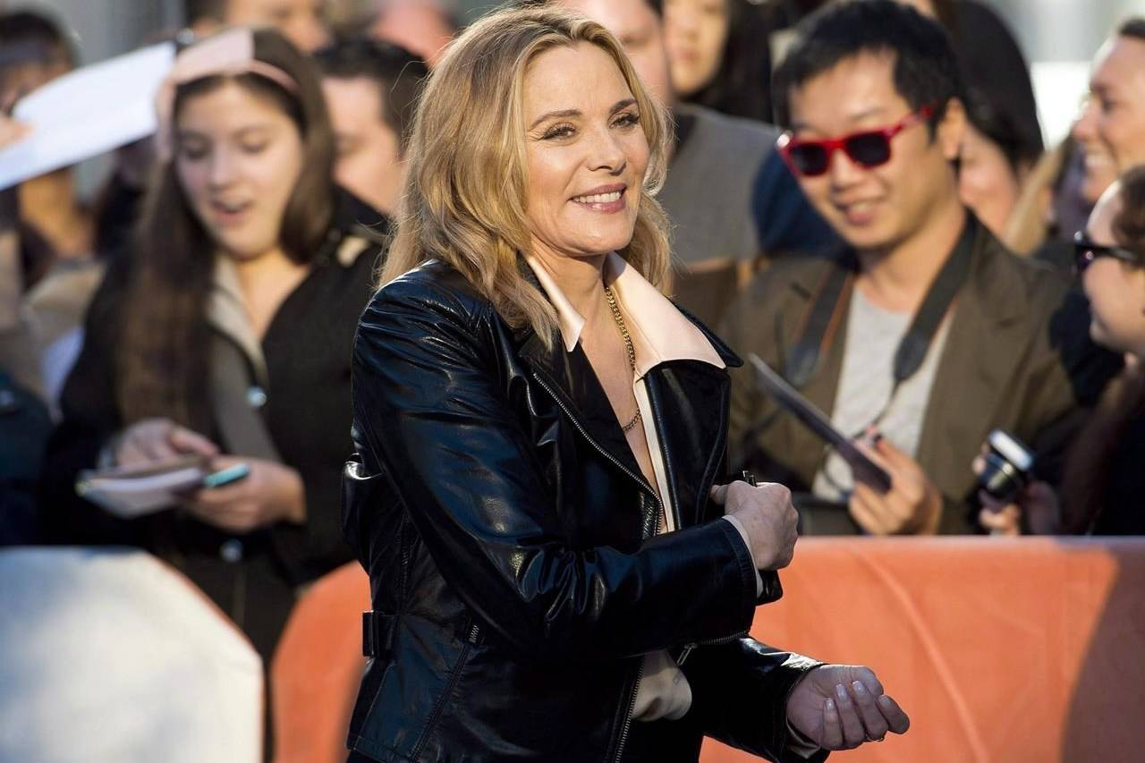 Actress Kim Cattrall poses for a photograph during the 2013 Toronto International Film Festival in Toronto on Sept. 8, 2013. THE CANADIAN PRESS/Nathan Denette