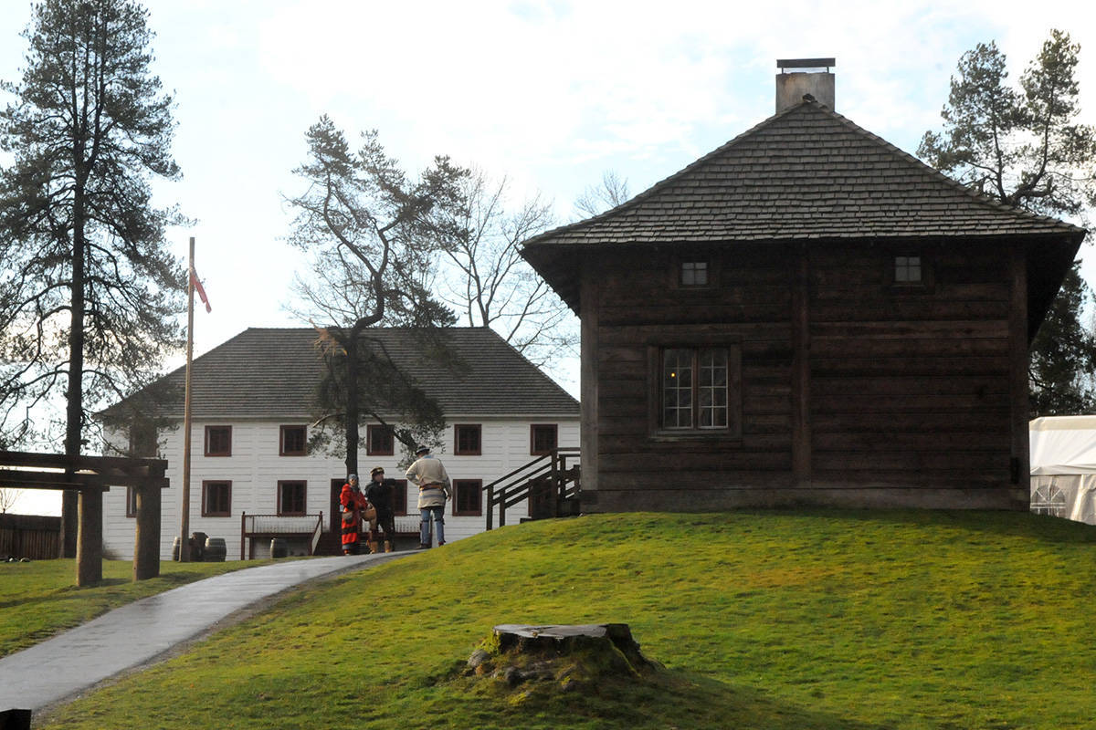 Fort Langley National Historic Site. (Black Press Media files)