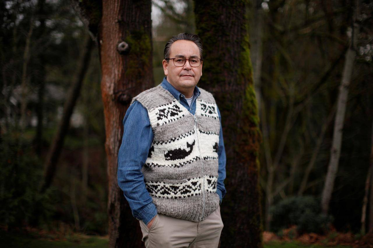Cowichan Tribes general manager Derek Thompson is photographed in Cowichan Bay, B.C., on January 12, 2021. THE CANADIAN PRESS/Chad Hipolito