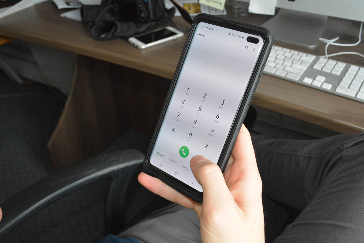 Wireless voice and data services are out for those on Telus as of Thursday (Jan. 14) afternoon across Western Canada, Telus Support said in a recent Tweet. (Black Press file photo)
