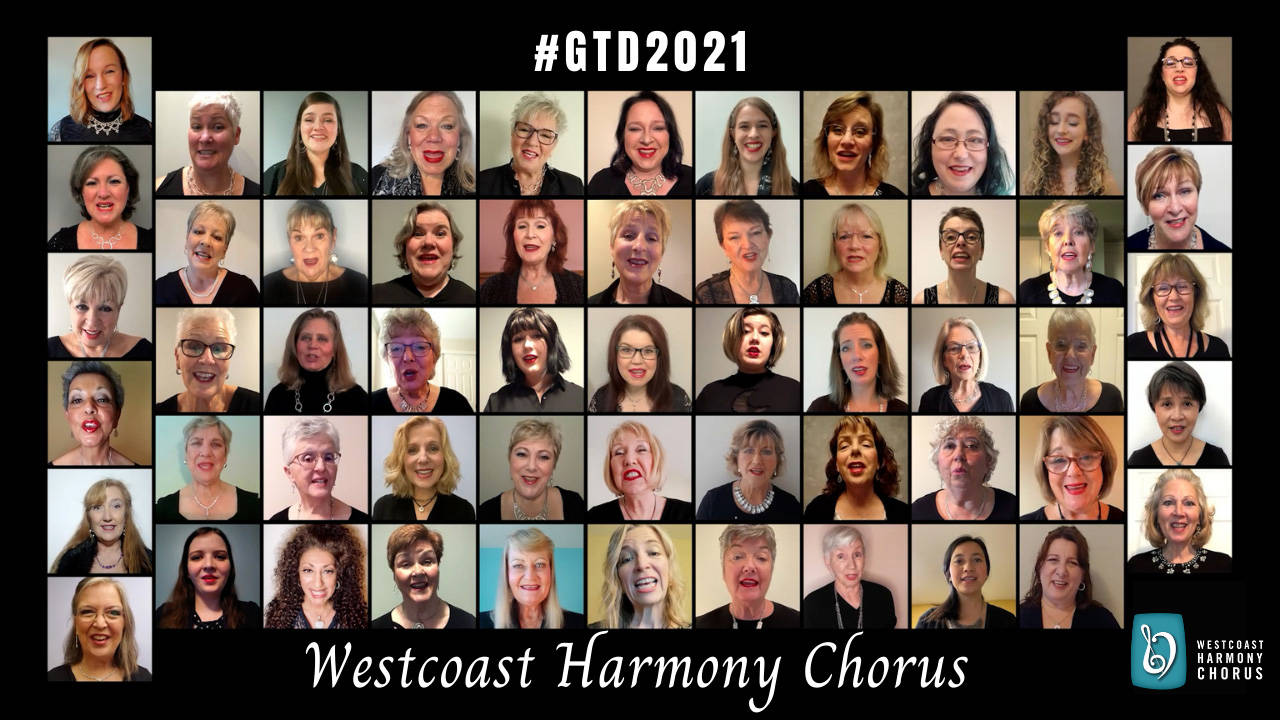 Westcoast Harmony has release its latest virtual chorus: Go the Distance. (Kelly Collins/Special to Langley Advance Times)