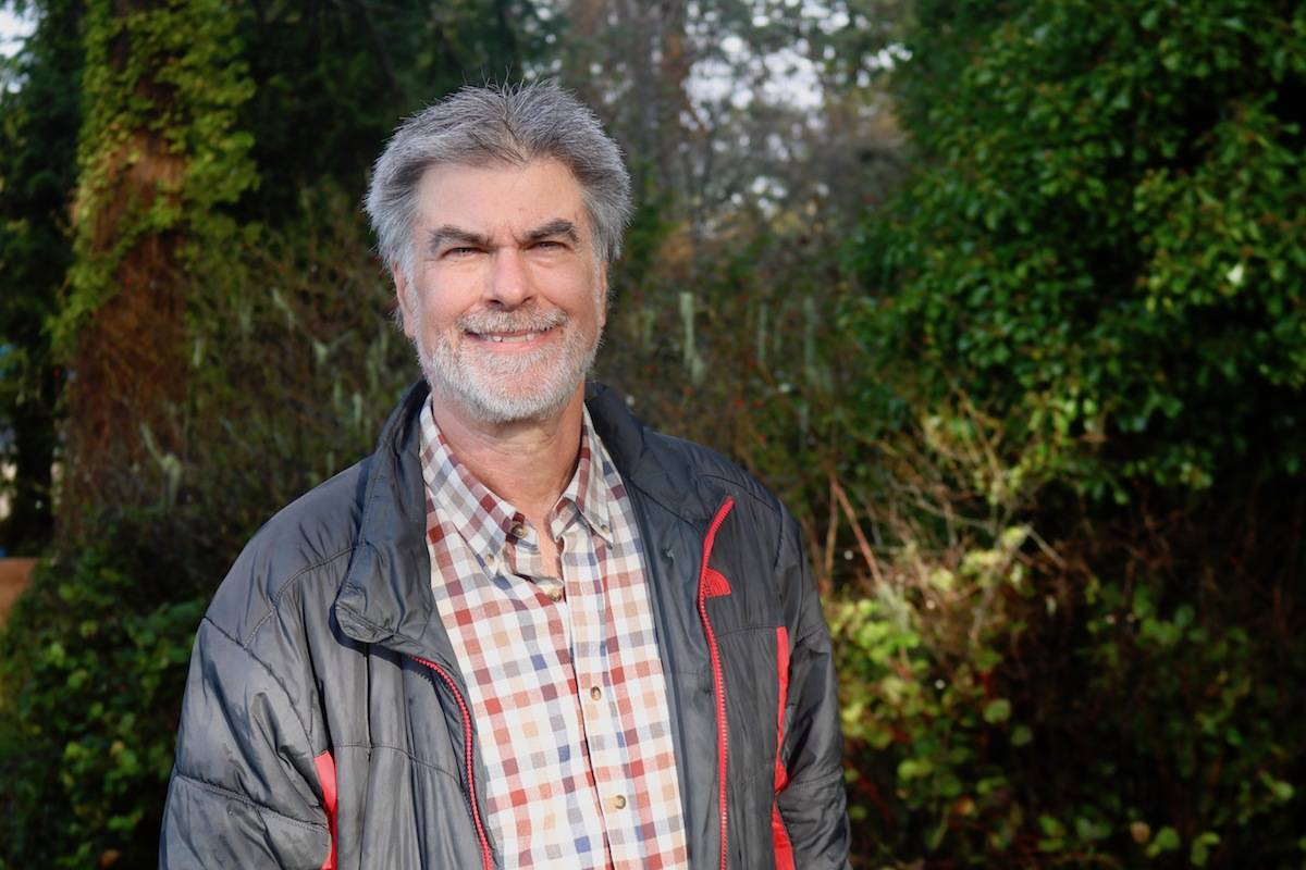 """Sooke's Jim Bottomley is among a handful of futurists based in Canada. """"I want to help people understand the future of humanity."""" (Aaron Guillen - Sooke News Mirror)"""