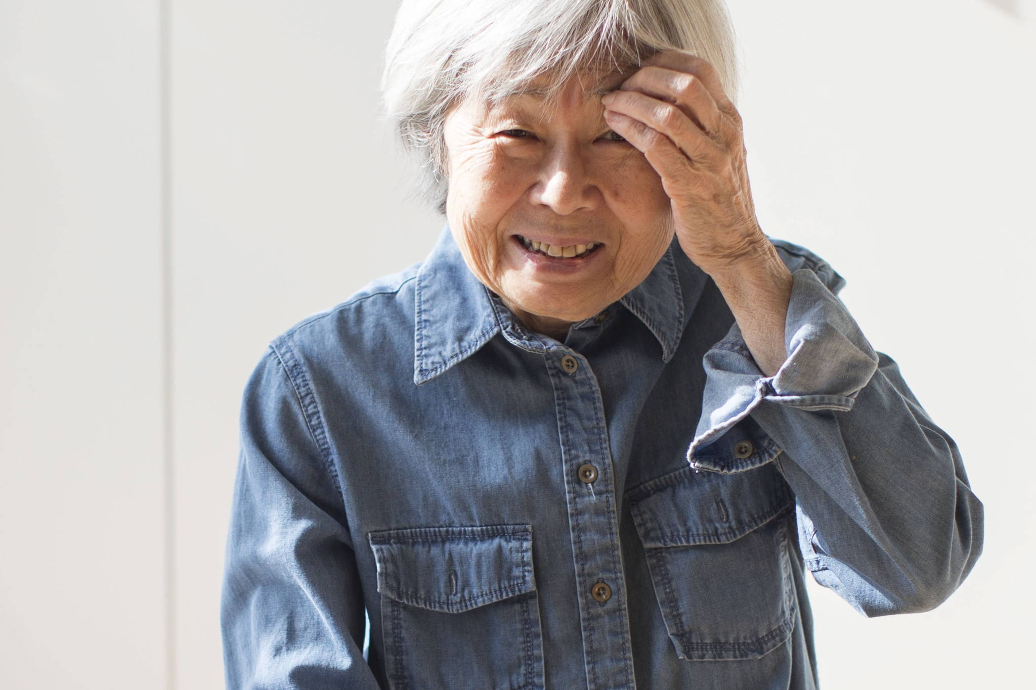 """Writer Joy Kogawa is photographed in her Toronto home on Friday, February 22, 2019. Kogawa is giddy about the """"miracle"""" of technology allowing people to learn about Canada's racist past that forced thousands of citizens like her out of their homes and into internment camps during the Second World War. THE CANADIAN PRESS/Chris Young"""