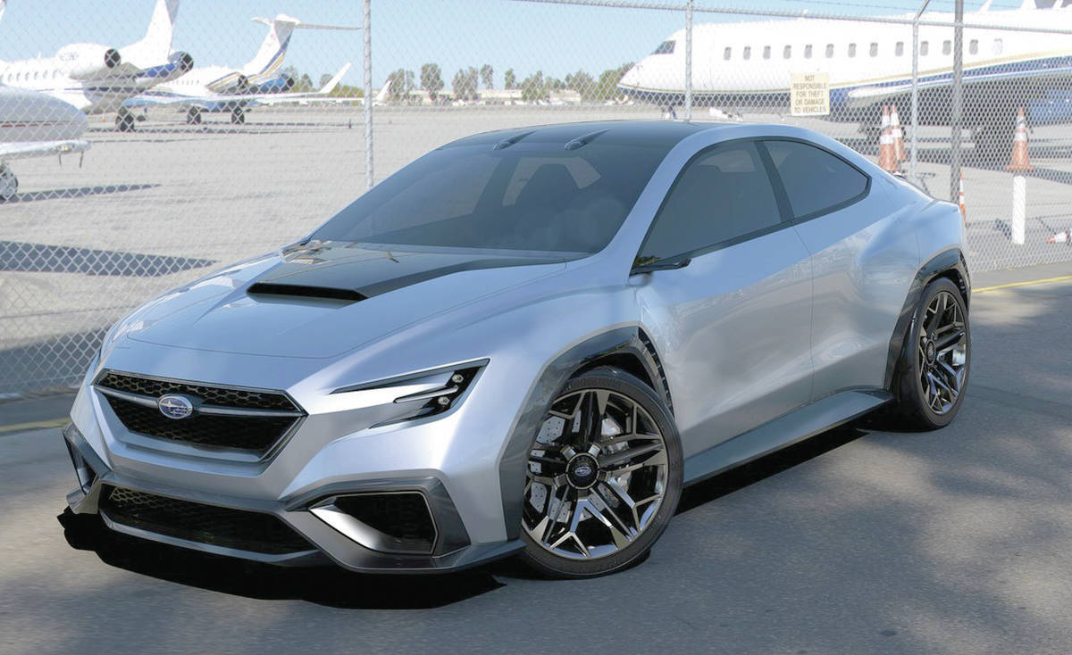The Sleuth hears that the upcoming Subaru WRX and STI sedans will be heavily influenced by the 2017 VIZIV concept. Expect horsepower to top 400.PHOTO: SUBARU