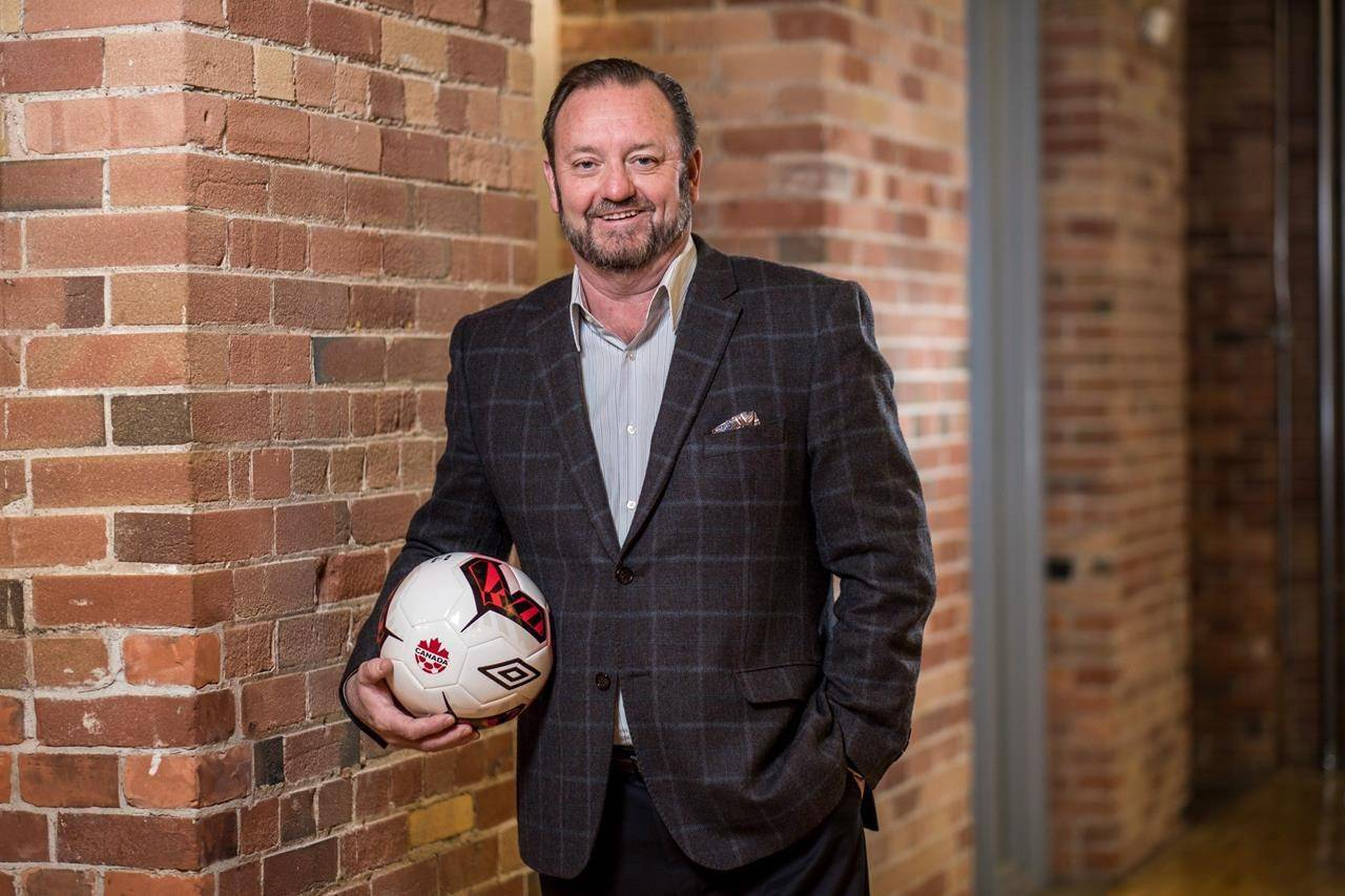 Canadian Premier League commissioner David Clanachan is shown in a handout photo. THE CANADIAN PRESS/HO-Canadian Premier League-Darren Goldstein **MANDATORY CREDIT**