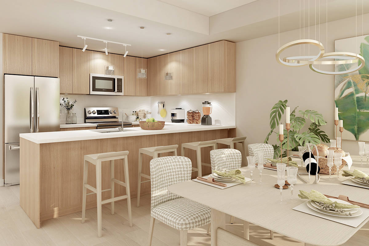 Perfectly positioned on the edge of Downtown Langley, on Douglas Crescent at 208th Street, Nicomekl Garden offers 40 modern condominium homes.