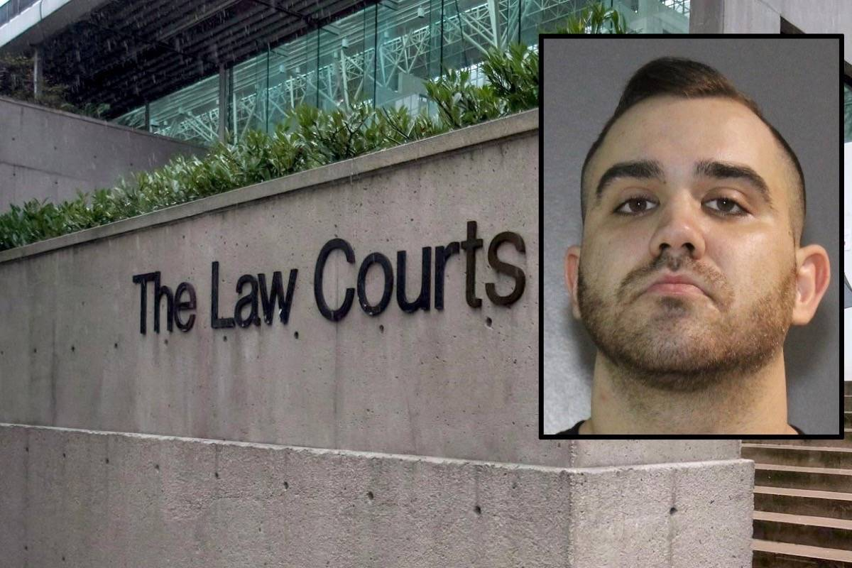 Brandon Nathan Teixeira, charged in connection with a fatal 2017 shooting in South Surrey, is to return to court Feb. 2, 2021. (Canadian Press/File photo)
