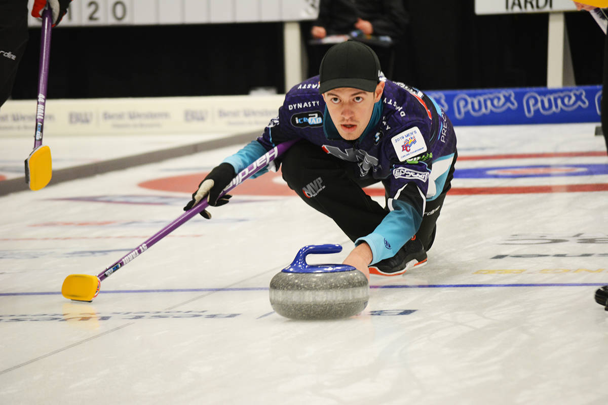 Tyler Tardi will serve as a fifth on Team Laycock at the 2021 Tim Hortons Brier. (Lindsay Chung photo)