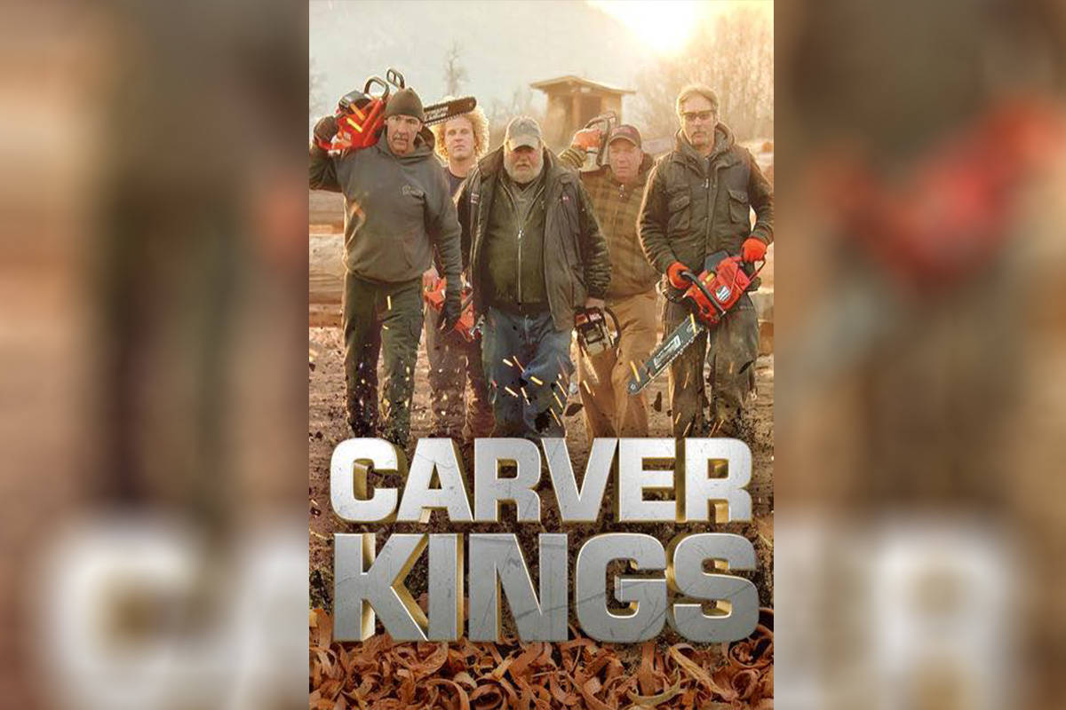 The world got to know the work of famed Hope chainsaw carver Pete Ryan (centre) by way of Carver Kings, a series that aired on HGTV. (Photo/Ryan Cook)
