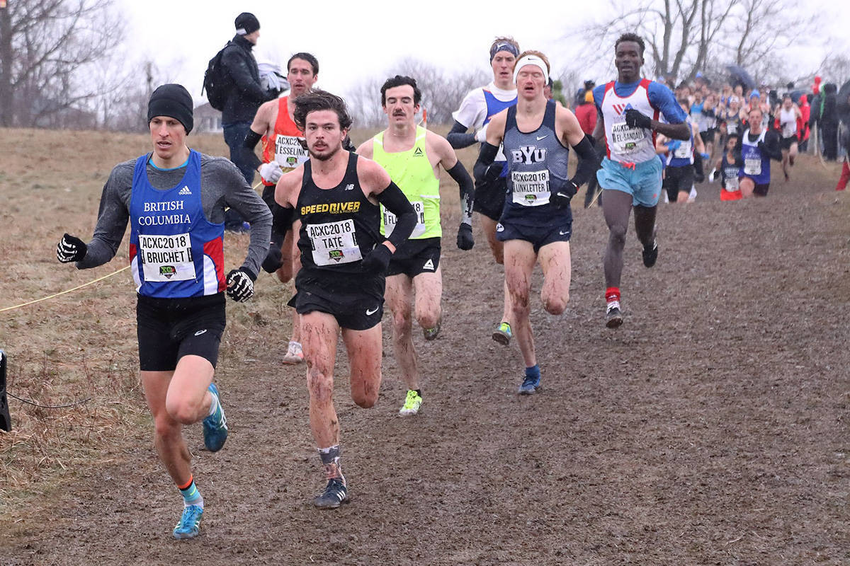 Competitors make their way through the course at the 2019 Canadian Cross Country Championships, which was hosted by Abbotsford in 2019. (File photo)