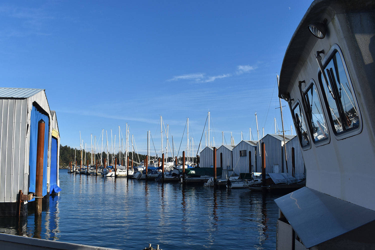 BC Coroners Service is currently investigating a death at Canoe Cove Marina and Boatyard in North Saanich. (Black Press Media File)