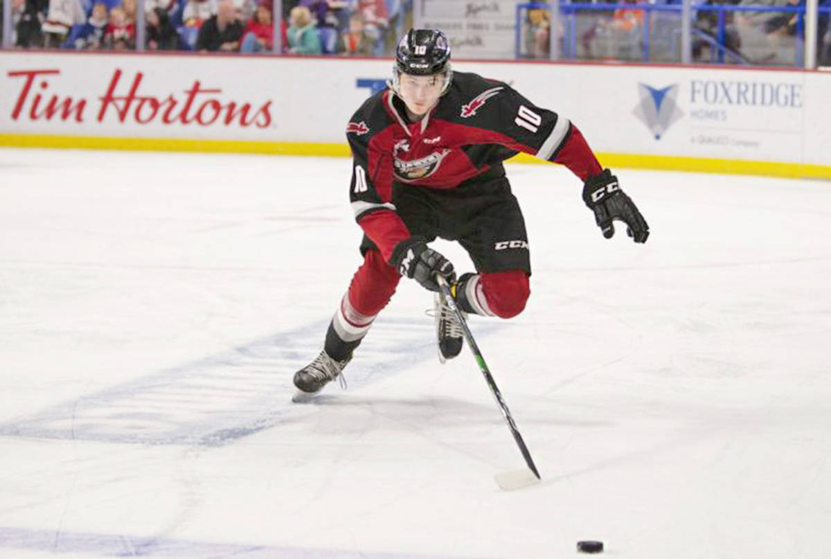 Vancouver Giants forward Zack Ostapchuk has cracked the latest NHL Central Scouting 'Players to Watch' list (Chris Relke/Vancouver Giants)