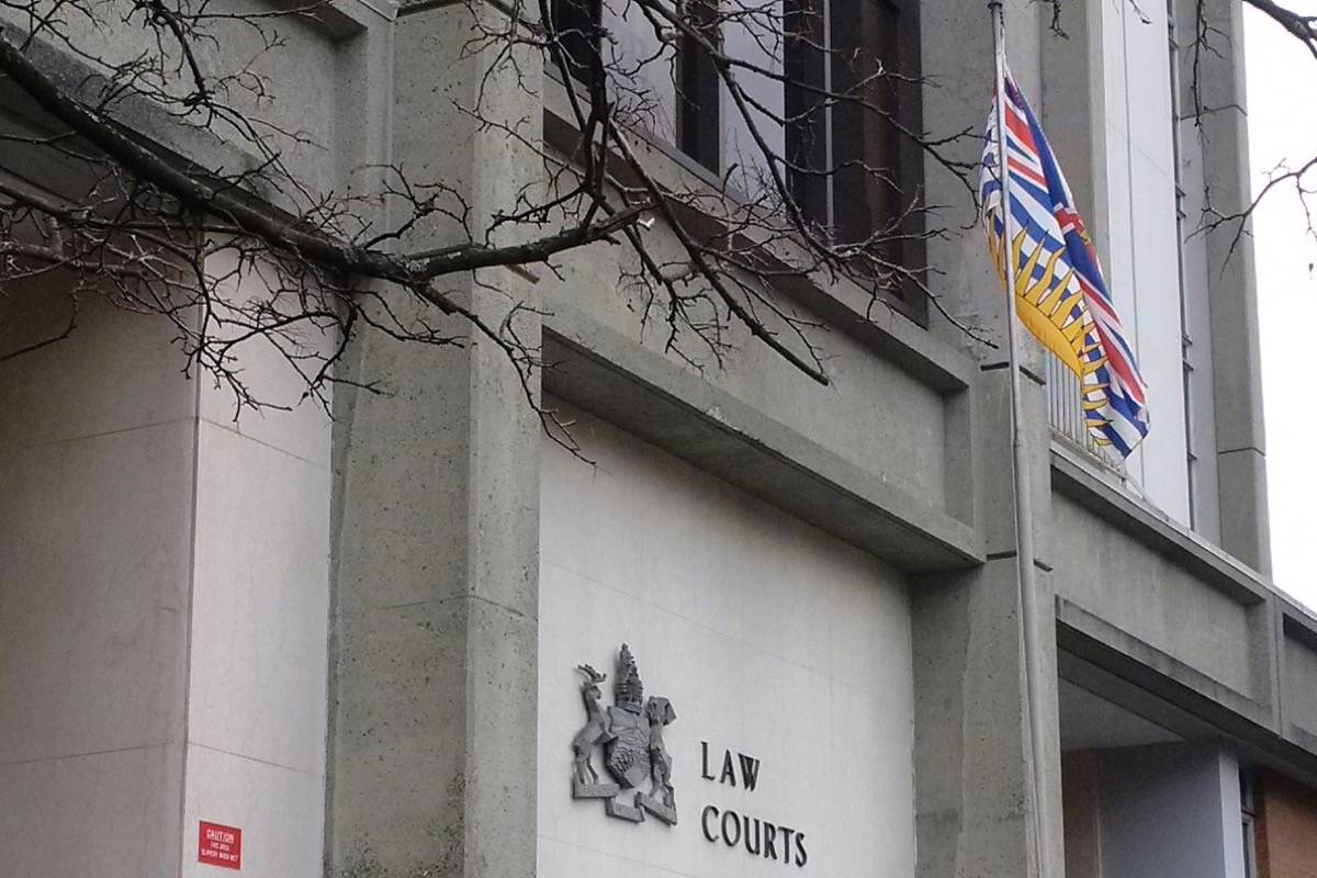 The forfeiture case based on seized gold and European cash is being held at the courthouse in Victoria. (Black Press Media files)