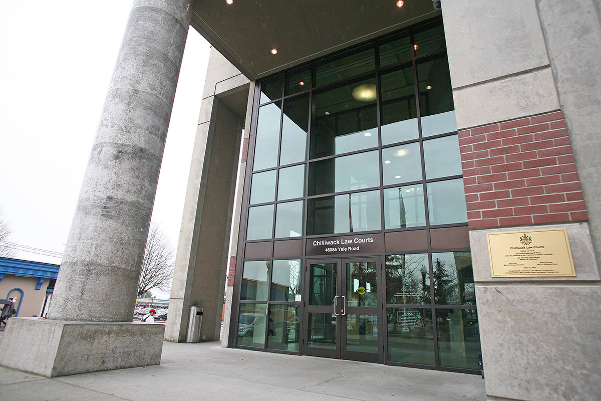 Chilliwack Law Courts. (Black Press file)