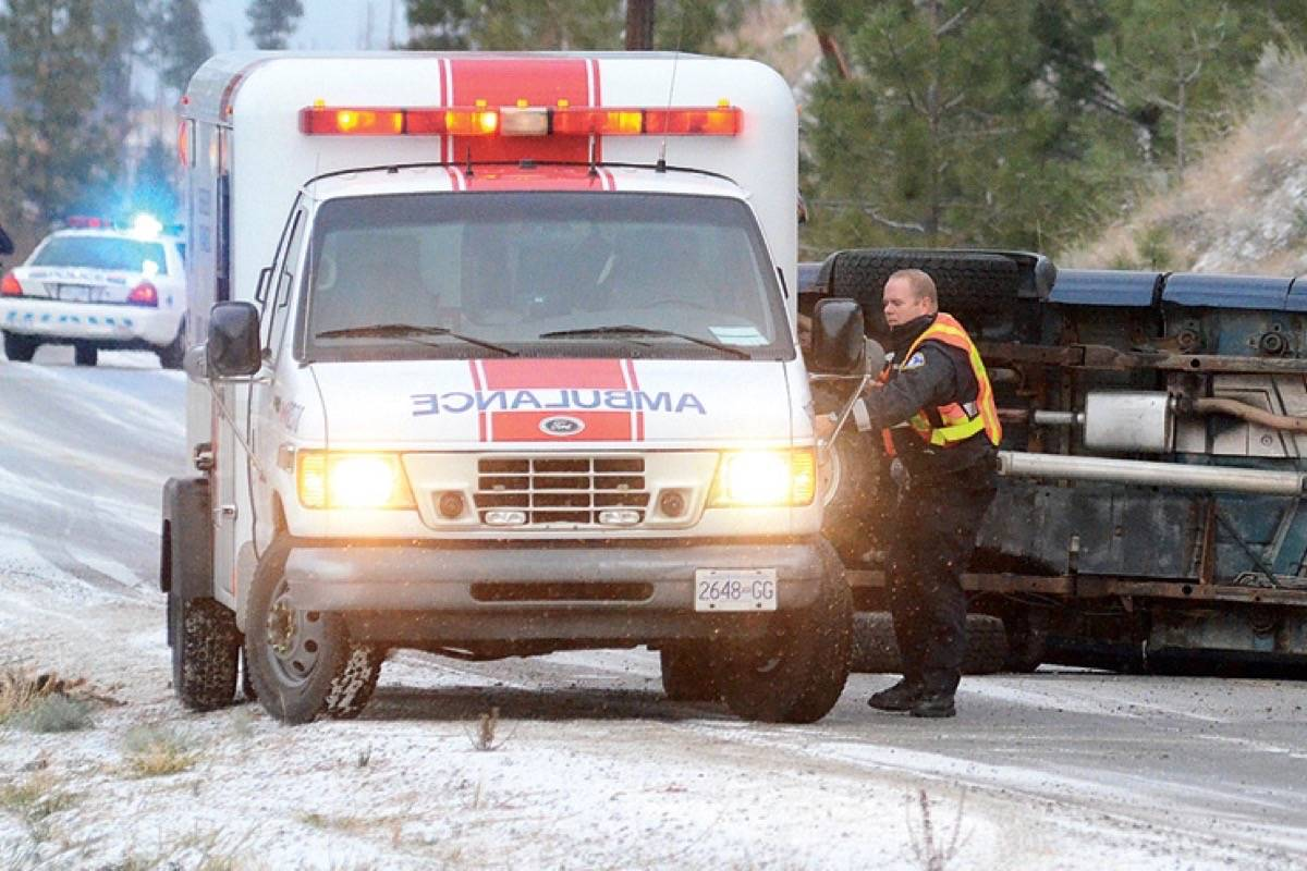 ICBC has seen savings on crash and injury claims in the COVID-19 pandemic, with traffic on B.C. roads reduced. (Penticton Western News)